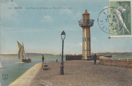 BREST: Le Phare De La Santé Au Port De Commerce - Brest