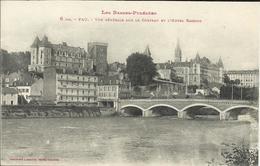 PAU , Vue Générale Sur Le Château Et L' Hotel Gassion - Pau