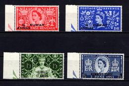 KUWAIT    1953    Coronation    Set  Of  4    MNH - Kuwait
