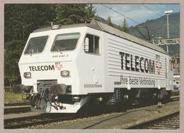 SOB Südostbahn Re 446 448 Telecom PTT (heute Swisscom) - Trains