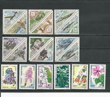 CONGO  Scott J34-J45, J46-J51 Yvert Taxe 34-45, 46-51 (18) ** Cote 10,90 $ 1961-71 - Congo - Brazzaville