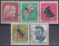 SUIZA 1953 Nº 539/43 USADO - Switzerland