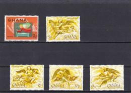 Ghana Nº 536 Al 540 - Ghana (1957-...)