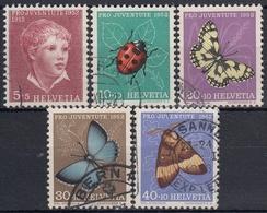 SUIZA 1952 Nº 526/30 USADO - Switzerland