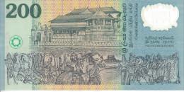 SRI LANKA - 200 Rupees Polymer 1998 - Anniversaire Independance UNC Pick 114 - Sri Lanka