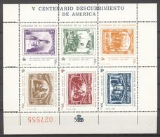 El Salvador 1989 - MNH - Columbus, Stamp On Stamp - Stamps