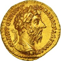 Moneta, Marco Aurelio, Roma,Oro, NGC, SPL+ - 9. Autres Monnaies De L'empire