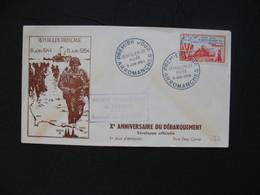 FDC  1954    N° 983  10 ème Anniversaire De La Libération   à Voir - FDC