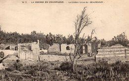 Champagne 51 La Célèbre Ferme De Beauséjour  Carte Ecrite Guerre 1914/1918 - Andere Gemeenten