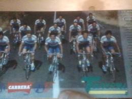 CYCLISME 1994   - CICLISMO :GRANDE CARTE GROUPE CARRERA - Cycling
