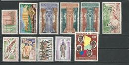 CONGO  Voir Détail (11) ** Cote 14,20 $ 1964 - Congo - Brazzaville