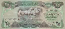 25 DINARES IRAK IRAQ YEAR 1980/1981-TBE-BILLETE BANKNOTE BILLET NOTA- BLEUP - Irak