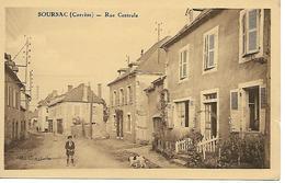 19 - Corrèze - Soursac - Rue Centrale - Altri Comuni