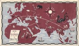 Carte Publicitaire Et Philatélique Plasmarine Ionyl Sur Les Traces De Marco Polo Timbres D'Italie - 1946-.. République