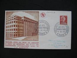 FDC  1955    N° 1009A  Marianne De Muller      à Voir - 1950-1959