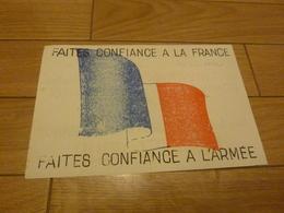 GUERRE D'ALGERIE INDÉPENDANCE TRACT PROPAGANDE GENERAL DE GAULLE - Historical Documents