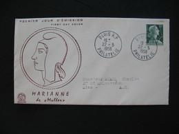 FDC  1955    N° 1011A  Marianne De Muller      à Voir - 1950-1959