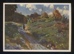 *Santiago Soto...* Ed. Artigas. Pintores Esp. Contemporáneos Col. B Serie 1005. Nueva. - Pintura & Cuadros