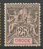 OBOCK N° 39 NEUF* TRACE DE CHARNIERE TB  / MH - Obock (1892-1899)