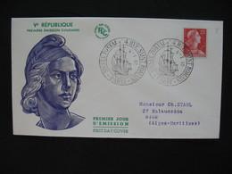 FDC  1955    N° 1011C  Marianne De Muller      à Voir - FDC