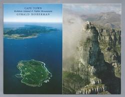 ZA. CAPE TOWN. ROBBEN ISLAND & TABLE MOUNTAIN. GERALD HOBERMAN. SOUTH AFRICA. - Zuid-Afrika