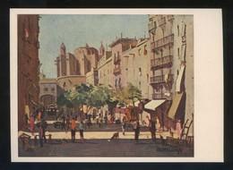 *Rafael Durancamps...* Ed. Artigas. Pintores Esp. Contemporáneos Col. B Serie 1005. Nueva. - Pintura & Cuadros