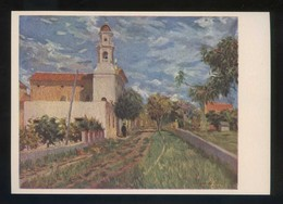 *Jacinto Olivé...* Ed. Artigas. Pintores Esp. Contemporáneos Col. C Serie 1006. Nueva. - Pintura & Cuadros