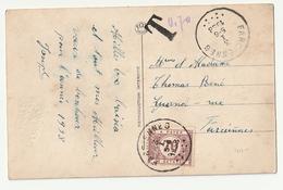 70c Taks Farciennes 1938 - Taxes