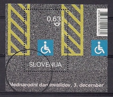 ESLOVENIA 2018 - DIA DE LOS DISCAPACITADOS. - SELLO NUEVO TIMBRADO DE FAVOR (VALOR FACIAL) - Slovénie