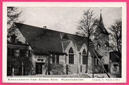 """Kerkgebouw Chr. Geref. Gem. Barendrecht - Arch. C. VEGT & Zn - Eglise - Uitg. Drukkerij """" BARENDRECHT """" - Unclassified"""