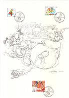 3433/8 Astérix Chez Les Belges (Signé Uderzo) - Comics