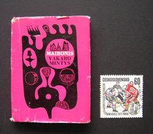 Lithuanian Miniature Book / Vakaro Mintys Maironis 1968 - Books, Magazines, Comics