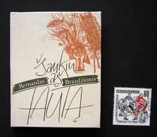 Lithuanian Miniature Book / Šaukiu Aš Tautą Brazdžionis Bernardas 1991 - Bücher, Zeitschriften, Comics