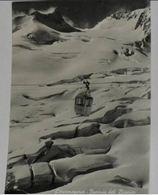 AOSTA - Courmayeur - Funivia Del Monte Bianco - Crepacci Sul Ghiacciaio Del Tacul - 1957 - Aosta