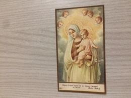 Santino Beata Vergine Del Carmelo - Santini