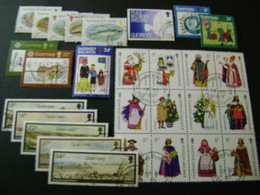 Guernsey 1985-1986 Commemorative/special Issues (SG 332-392) 3 Images - Used - Guernsey
