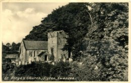 GLAMORGAN - SWANSEA ILSTON - ST ILLTYD'S CHURCH Glam214 - Glamorgan