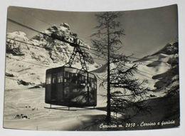 AOSTA - Cervinia - Monte Cervino E Funivia - 1956 - Aosta
