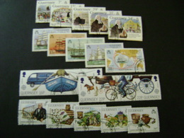 Guernsey 1987-1988 Commemorative/special Issues (SG 393-397, 400-450) 3 Images - Used - Guernsey