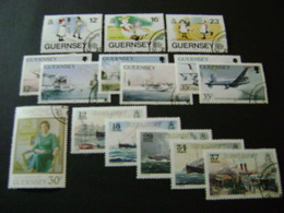 Guernsey 1989-1990 Commemorative/special Issues (SG 451-453, 456-467, 469-494, 496-516) 3 Images - Used - Guernsey