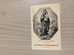 Santino Nostra Signora Del S. Cuore Di Gesu' - Santini