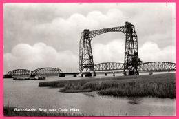 Barendrecht - Brug Over Oude Maas - Pont - Péniche - VAN LEER'S - ECHTE FOTO  N°862 - Maassluis