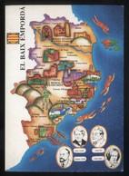 *El Baix Empordà* Congrés Cultura Catalana 1977. Campanya Identificació Del Territori. Nueva. - Mapas