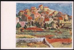 Croatia Mali Losinj / Panorama / Art, Painting, Vladimir Pintaric / Uncirculated, Unused - Croatie