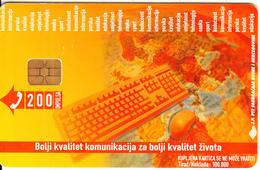 BOSNIA - Keyboard(200 Units), Used - Bosnia