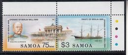 Samoa (1990) - Trattato Di Berlino ** MNH - Samoa