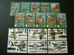 Guernsey 1998 Commemorative/special Issues (SG 760-769, 774-779, Ms780, 781-784, 810-815) 2 Images - Used - Guernsey