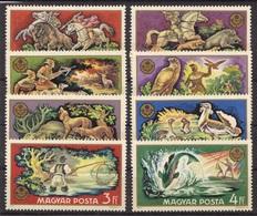 HUNGARY S/S And SETS 1971 MNH**- Hunted Animals, Fishing - Vissen