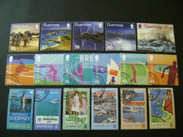 Guernsey 2003 Commemorative/special Issues (SG 979-989, 991-996, Ms997, 998-1007, 1009-1014) 2 Images - Used - Guernsey