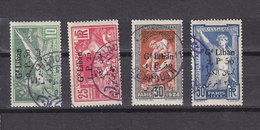 GRAND LIBAN JEUX OLYMPIQUES 45/48  OBLITERES TB - Grand Liban (1924-1945)
